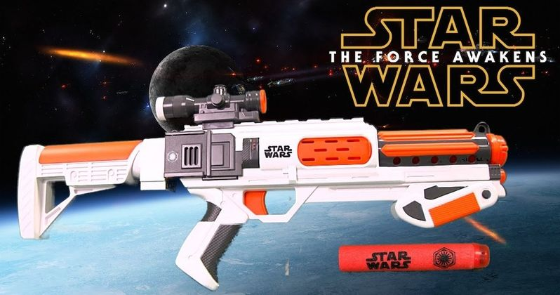 Star Wars Blasters Banned at Disney Parks