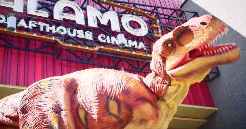 Jeff Goldblum Unleashes Anti-Talking and Texting Dinosaur in New Drafthouse PSA