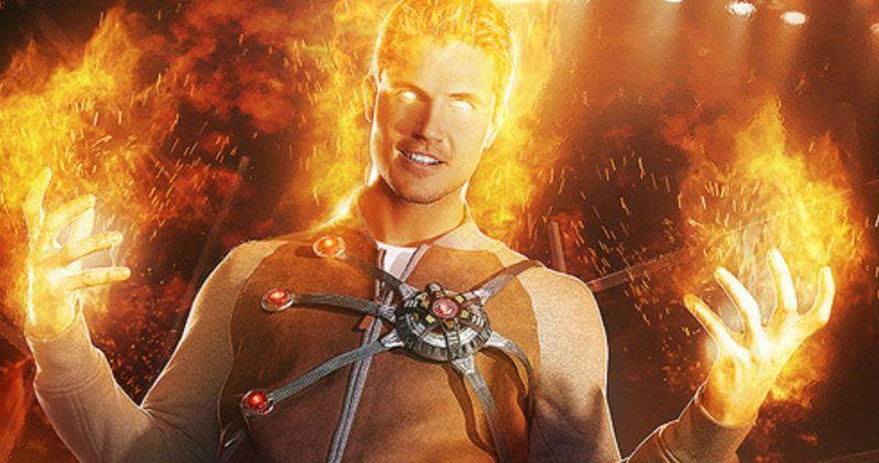 Robbie Amell Talks Firestorm in Flash Season 2 & Legends of Tomorrow   EXCLUSIVE