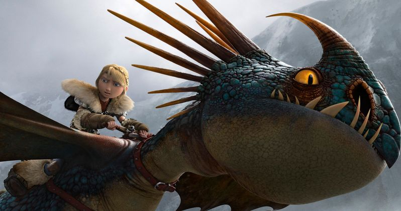How to Train Your Dragon 2 Clip: A Game of Black Sheep