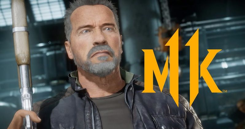 Terminator: Dark Fate T-800 Shows Up in Mortal Kombat 11 Trailer
