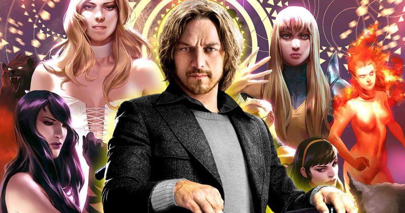 James McAvoy Won't Return as Professor X in New Mutants