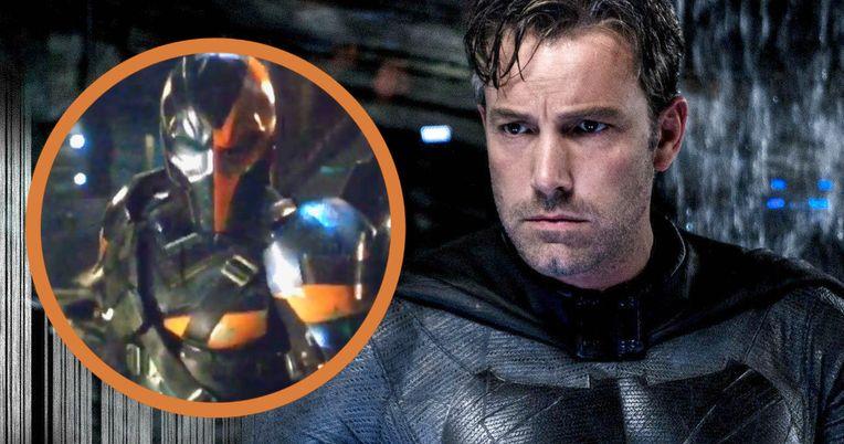 Deathstroke Is the Main Villain in Ben Affleck's Batman Movie