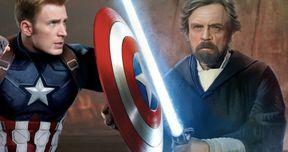 Lightsaber Vs. Cap's Shield: Mark Hamill & Chris Evans Debate the Ultimate Power