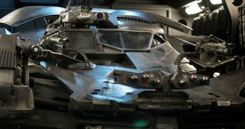 Justice League Upgraded Batmobile Revealed
