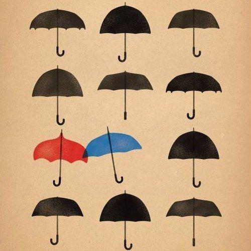 Disney Pixar's The Blue Umbrella Poster