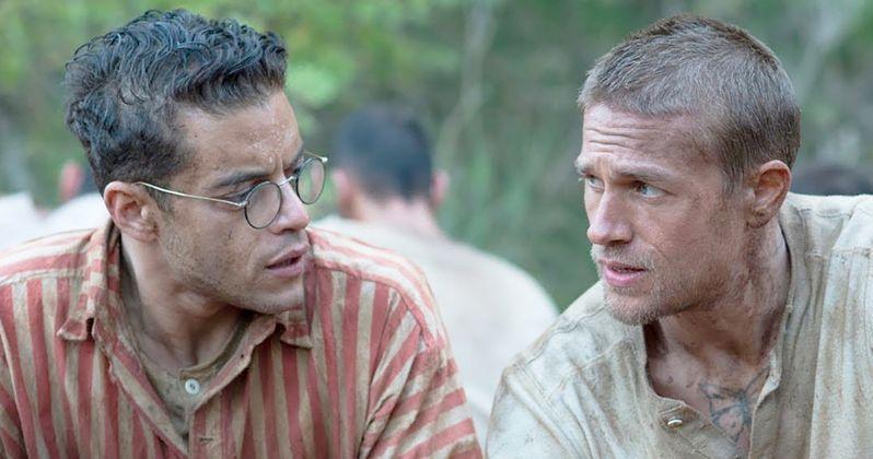 Papillon Trailer Has Charlie Hunnam & Rami Malek Planning a Prison Break