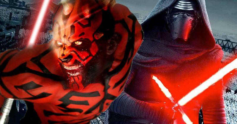 How Darth Maul Ties Into Star Wars: The Force Awakens