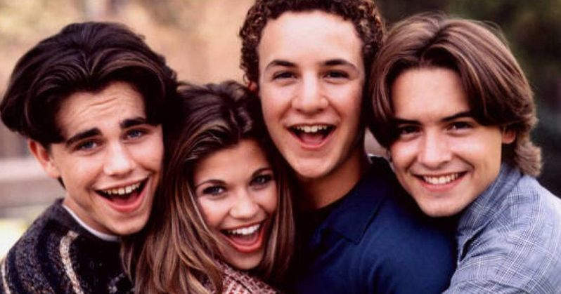 Boy Meets World Cast Recreates Famous Photo from 25 Years Ago