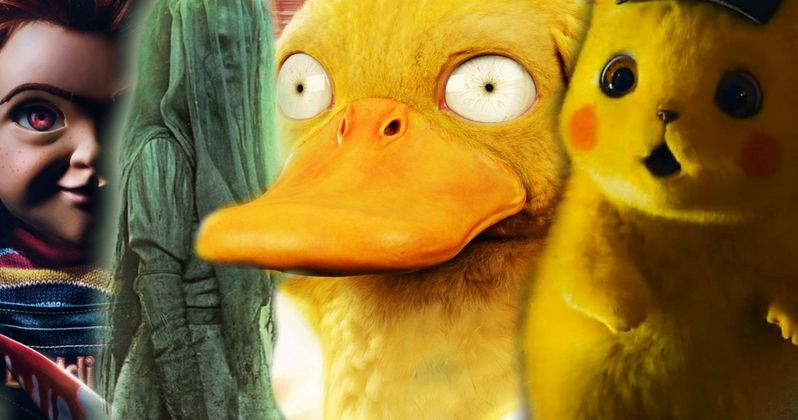 Chucky & La Llorona Terrorize Theater Full of Kids Waiting to Watch Detective Pikachu
