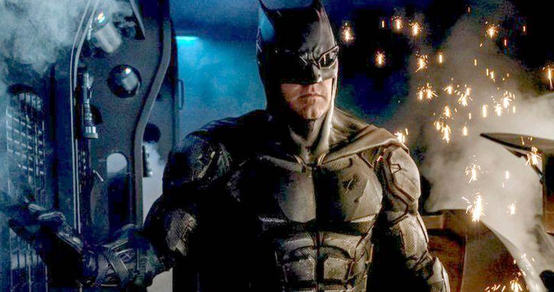 Batman's New Tactical Batsuit Revealed in Justice League