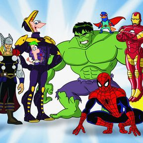 Phineas and Ferb Join the Marvel Universe in Mission Marvel Trailer