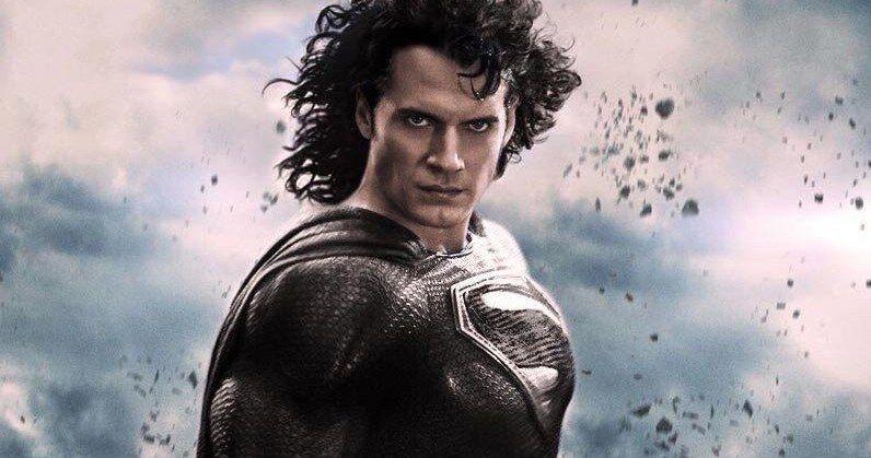 Black Suit Superman Scenes Were Shot for Justice League