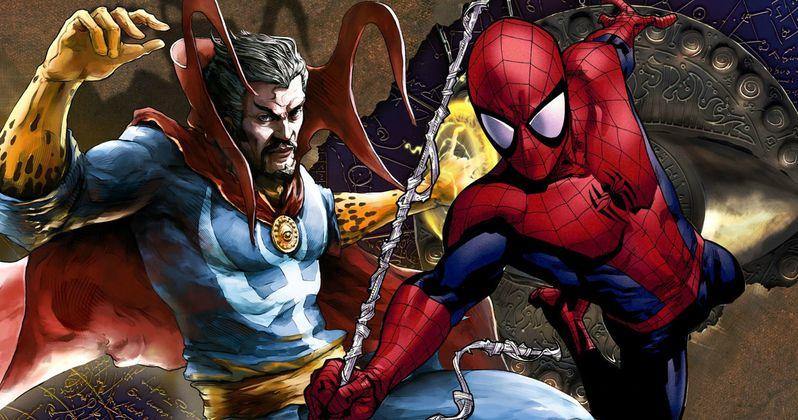 Doctor Strange Set Photo Hints at Spider-Man Cameo