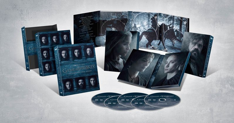 Game of Thrones Season 6 Blu-ray Release Date & Details Announced