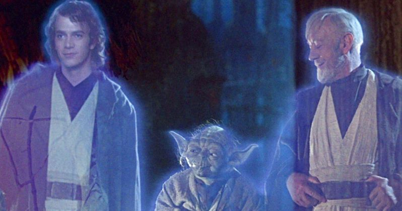 New Star Wars Book Confirms Anakin & Obi-Wan Force Ghosts Have Returned