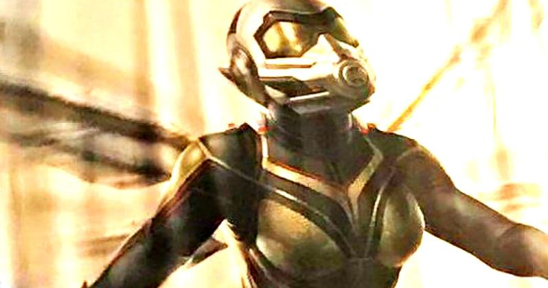 Ant-Man 2 Art Reveals New Wasp Costume