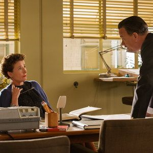 Two Saving Mr. Banks Photos with Tom Hanks and Emma Thompson