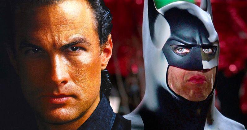 Steven Seagal as Tim Burton's Batman? It Could Have Happened