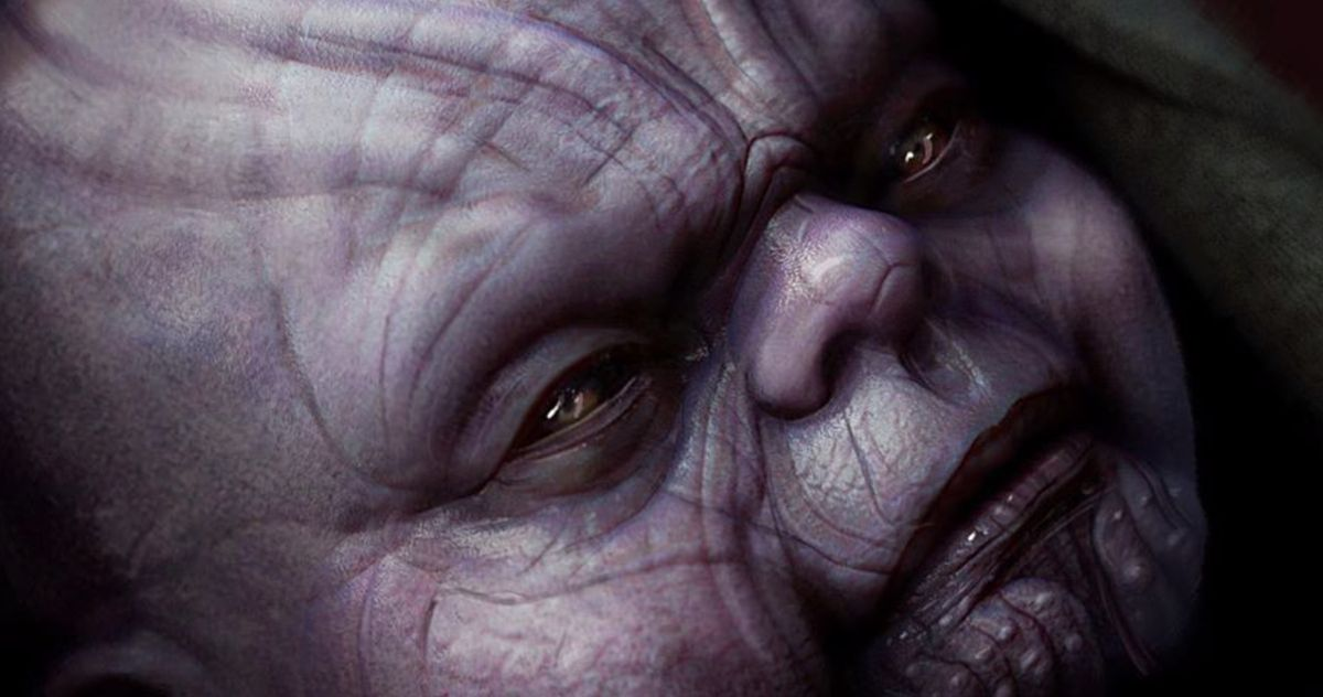 Baby Thanos Revealed in Avengers: Endgame Concept Art