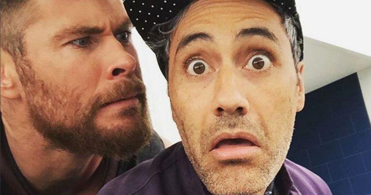 Chris Hemsworth Shares First Thor: Ragnarok Set Video