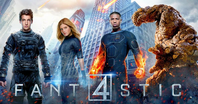 Fantastic Four Character Posters and Cast Banner