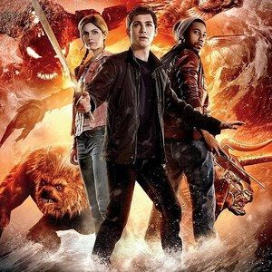 Two Percy Jackson: Sea of Monsters Cast Posters