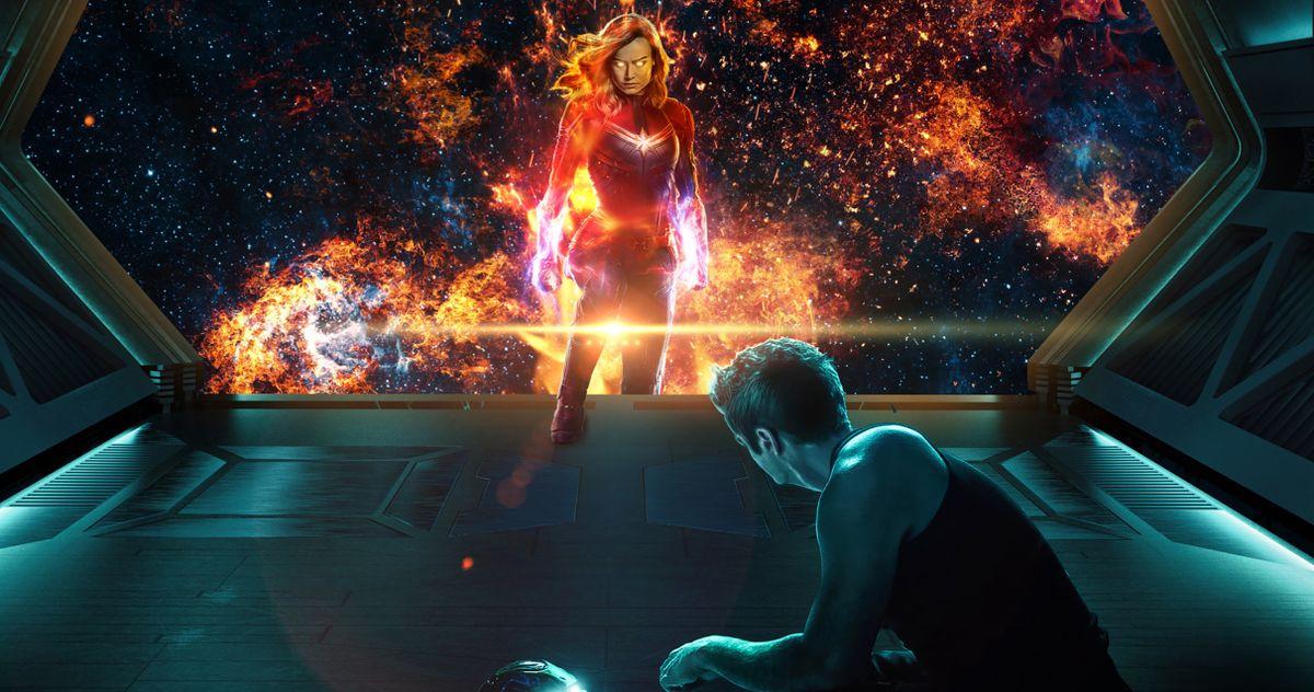 How Captain Marvel Found Tony & Nebula in Avengers: Endgame Finally Solved