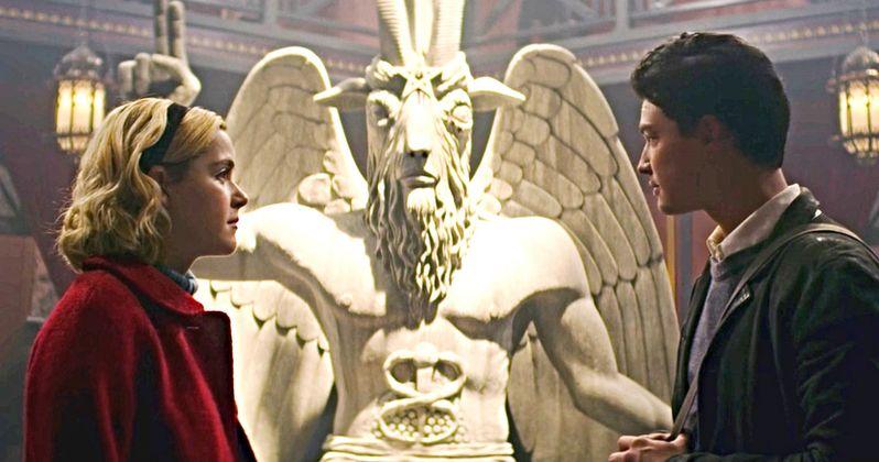 Satantic Temple Threatens to Sue Netflix Over Sabrina's Baphomet Statue