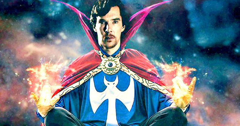Doctor Strange Photos Have a Better Look at Benedict Cumberbatch