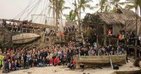 Pirates of the Caribbean 5 Photo Celebrates Talk Like a Pirate Day
