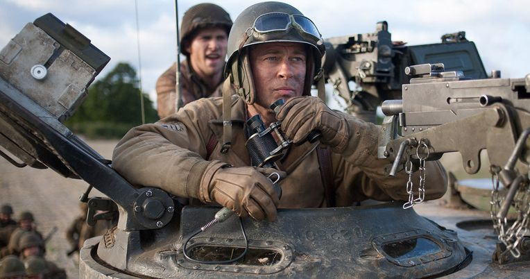 Brad Pitt's WWII Drama Fury Moves to October