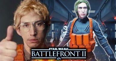 Kylo Ren Returns as Matt the Radar Tech in Battlefront 2 Mod