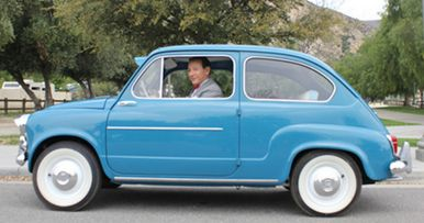Pee-wee's Big Holiday: Pee-wee Shows Off His New Car!
