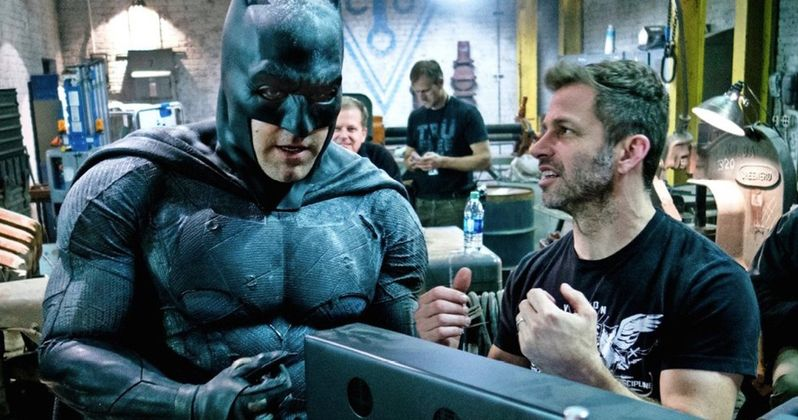 How Does Snyder Feel About Affleck Bailing as The Batman?