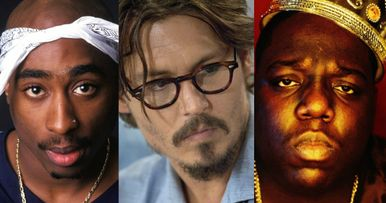 Johnny Depp Takes on Biggie & Tupac Investigation in Labyrinth