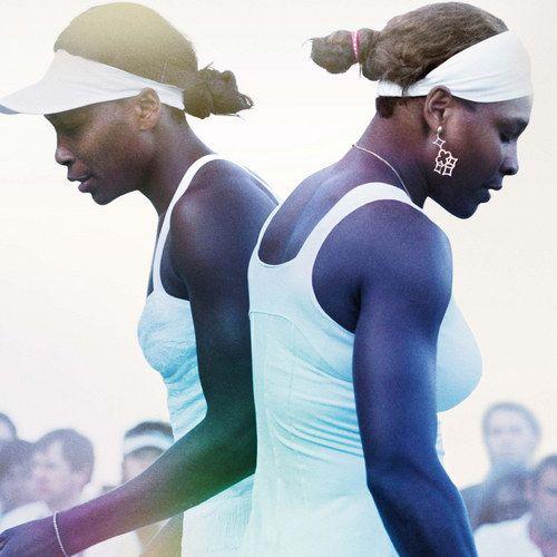 Venus and Serena Poster