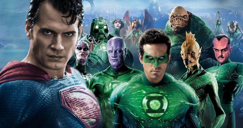 Henry Cavill Trolls Justice League Fans Over Green Lantern Casting