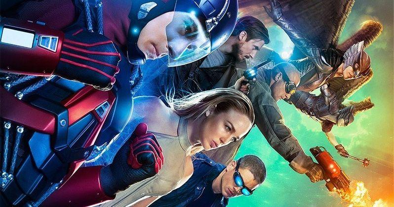 DC's Legends of Tomorrow Poster Unites a New Justice League