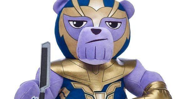 Build-A-Bear Snaps Thanos Teddy Bear Into Existence