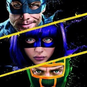 Kick-Ass 2 Heroes and Villains Poster