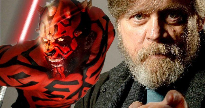 Mark Hamill Wanted More Darth Maul in the Star Wars Prequels