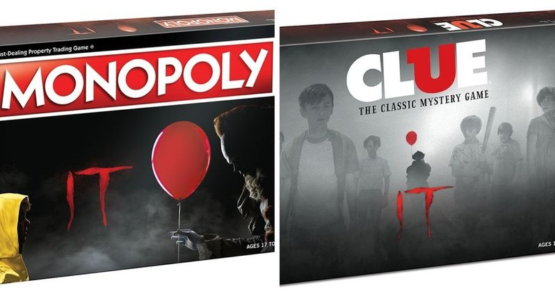 Pennywise Terrorizes Clue & Monopoly in New IT Board Games