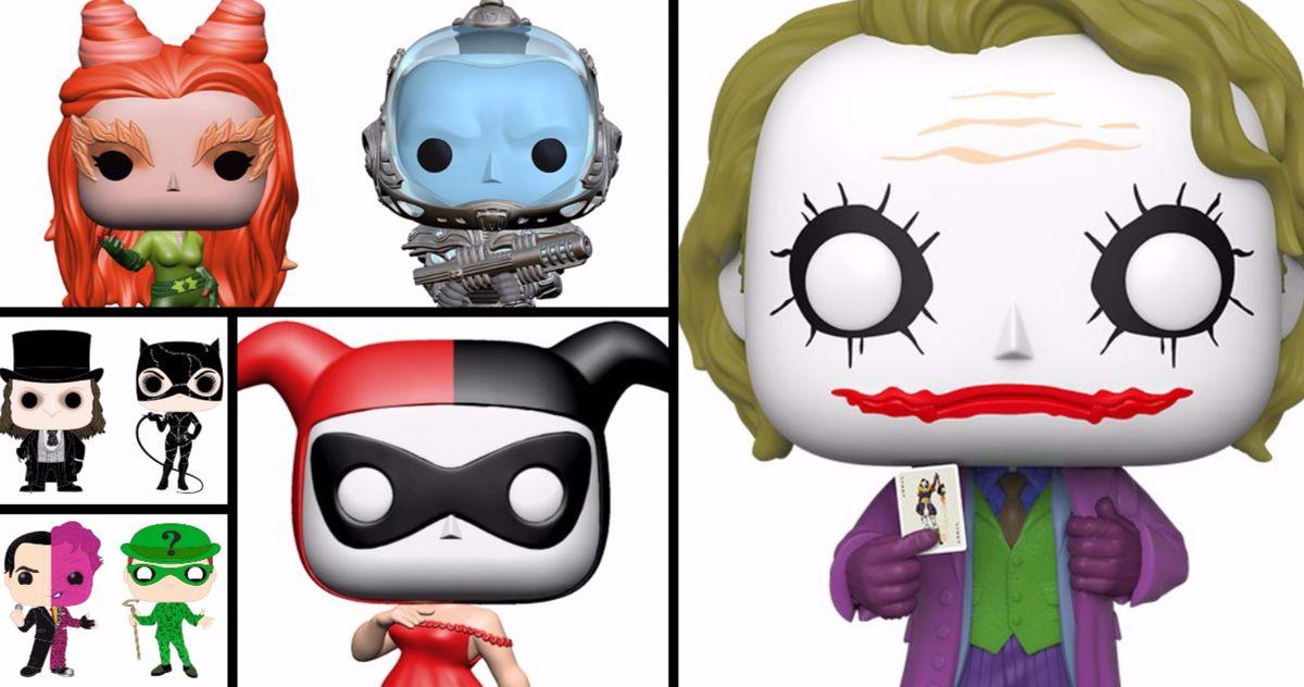 A Bunch of Batman Movie Villains Are Getting the Funko Pop! Treatment