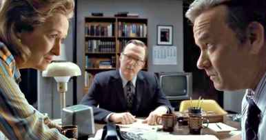 Spielberg's The Post Trailer Teams Tom Hanks and Meryl Streep