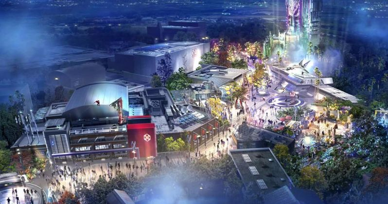 Avengers Campus Revealed: Get a First Look at Disney Parks' Marvel Land