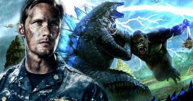 Godzilla Vs. Kong Brings in Alexander Skarsgard