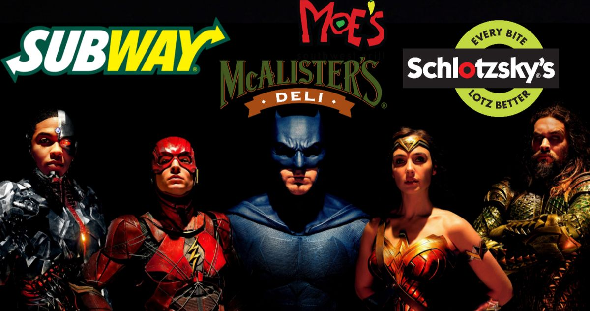 #ReleaseTheSnyderCut Gets Unexpected Support from Several Fast Food