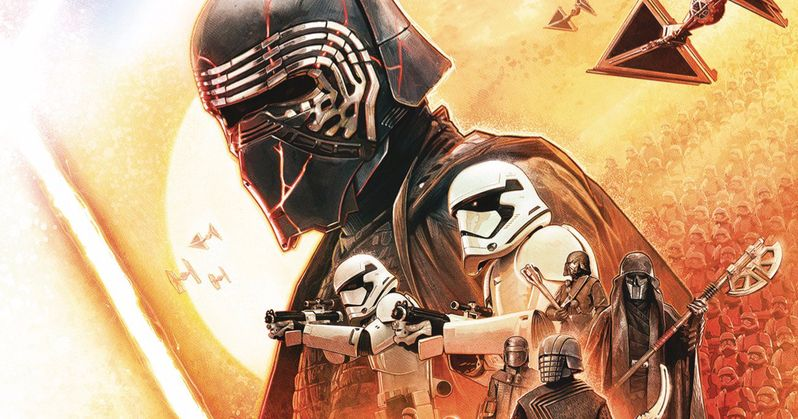 Kylo and the Knights of Ren Storm Official Star Wars Insider Magazine Cover