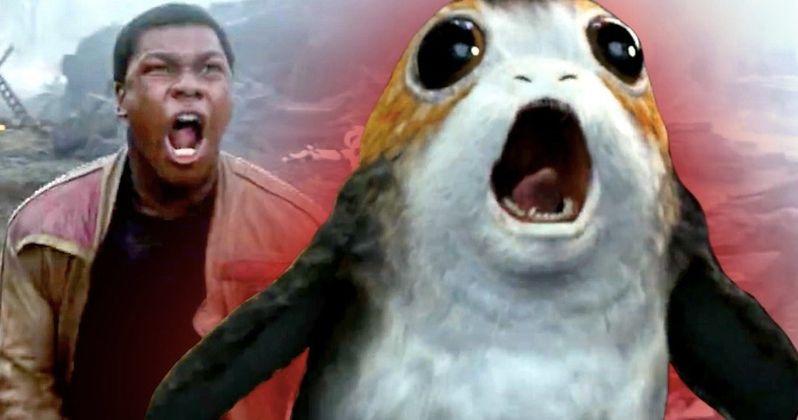 Porgs Really Freaked Out Star Wars 8 Star John Boyega